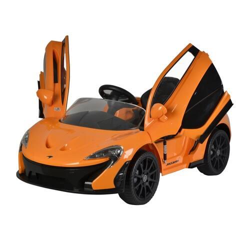 Best Ride On Cars Orange McLaren P1 12V Ride On