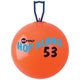 "Champion Sports FitPro Hop Along Pon Pon Ball, 20.5"", Red, Medium - Thumbnail 0"