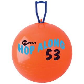 "Champion Sports FitPro Hop Along Pon Pon Ball, 20.5"", Red, Medium"