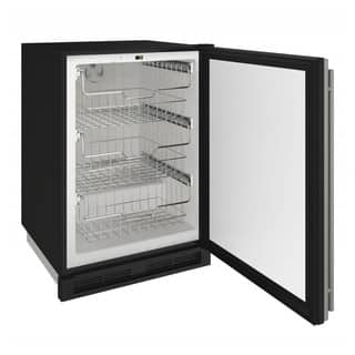 U-Line 24-inch Stainless Steel 115v Reversible Hinge Convertible Freezer|https://ak1.ostkcdn.com/images/products/15891982/P22297765.jpg?impolicy=medium