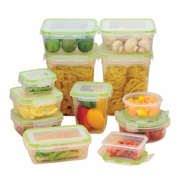 7a655236be5c Click & Lock 24 Piece Storage Container Set