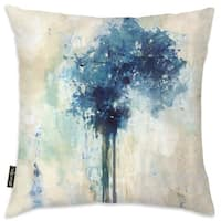 Oliver Gal 'Oasis Hues' Decorative Throw Pillow