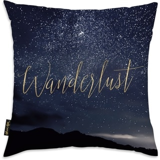 Oliver Gal 'Wanderlust Stars'DecorativeThrow Pillow