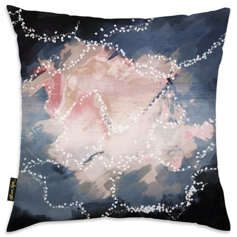 Oliver Gal 'First Glance' Decorative Throw Pillow