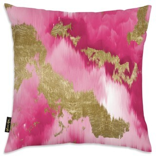 Oliver Gal 'Vivanti Gold' Decorative Throw Pillow