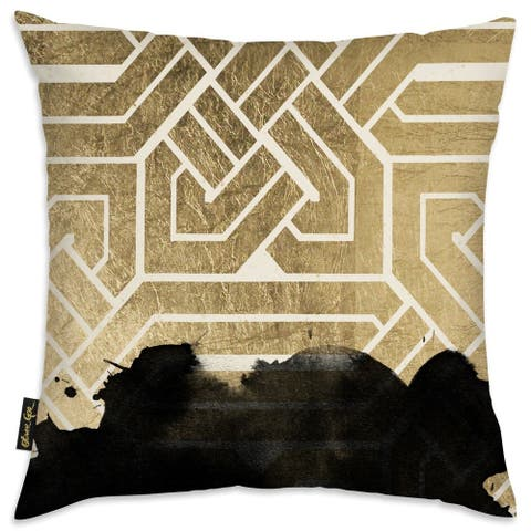 Oliver Gal 'Introspect Deco' Decorative Throw Pillow
