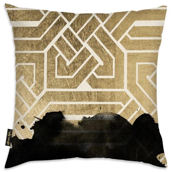 Oliver Gal 'Introspect Deco' Decorative Throw Pillow