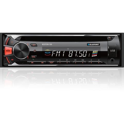 Blaupunkt Boston BOS100 Car CD/MP3 Player - 120 W RMS - Single DIN