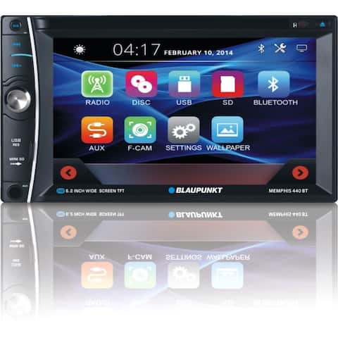 "Blaupunkt MMP440 Car DVD Player - 6.2"" Touchscreen LCD - Double DIN"