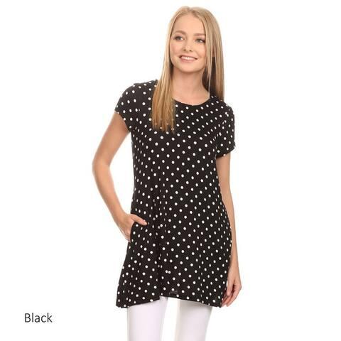 Women's Polka Dot Tunic