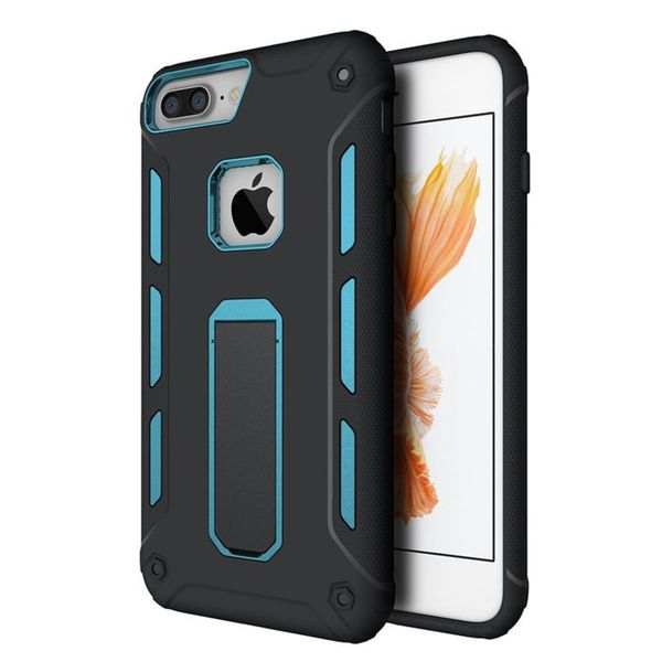 Insten Hard Snap-on Case Cover with Stand For Apple iPhone 7 Plus