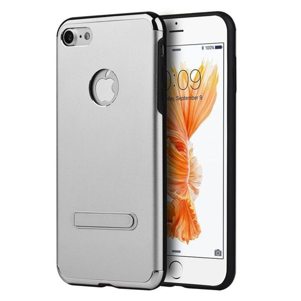 Insten Hard Snap-on Case Cover with Stand For Apple iPhone 7