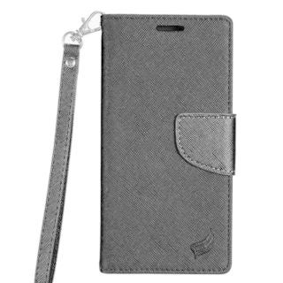 Insten Leatherette Case Cover Lanyard with Stand/ Wallet Flap Pouch For Samsung Galaxy S8