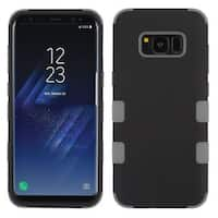 Insten Hard PC/ Silicone Dual Layer Hybrid Rubberized Matte Case Cover For Samsung Galaxy S8