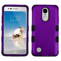 Insten Hard PC/ Silicone Dual Layer Hybrid Rubberized Matte Case Cover For LG Aristo/ Fortune/ K8 (2017)/ LV3/ Phoenix 3