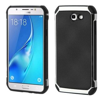 Insten Hard Snap-on Dual Layer Hybrid Case Cover For Samsung Galaxy J7 (2017)/ J7 Perx/ J7 Sky Pro/ J7 V