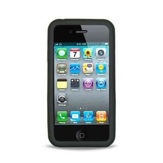 Insten Soft Silicone Skin Rubber Case Cover For Apple iPhone 4