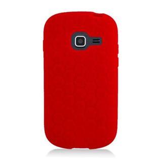 Insten Silicone Skin Gel Rubber Case Cover For Samsung Galaxy Centura SGH-S738/ Discover SGH-S730