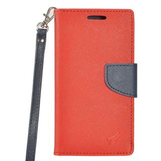 Insten Leatherette Case Cover Lanyard with Stand/ Wallet Flap Pouch/ Photo Display For Samsung Galaxy J3 (2017)
