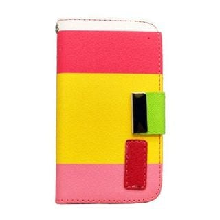Insten Leatherette Case Cover with Wallet Flap Pouch For Apple iPhone 4/ 4S