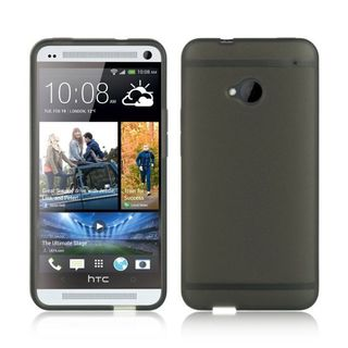 Insten TPU Rubber Candy Skin Case Cover For HTC One M7