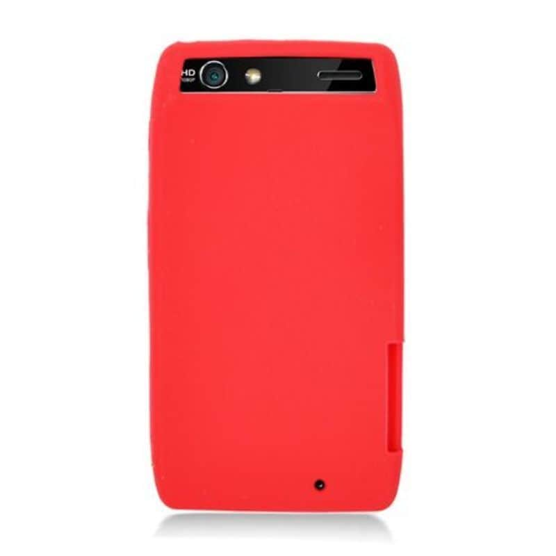 Insten Silicone Skin Gel Rubber Case Cover For Motorola D...