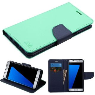 Insten Leatherette Case Cover with Stand/ Wallet Flap Pouch For Samsung Galaxy S8 Plus S8+