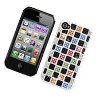 Insten Hard Snap-on Rhinestone Bling Case Cover For Apple iPhone 4/ 4S