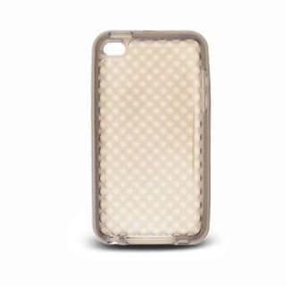 Insten Clear TPU Rubber Candy Skin Case Cover For Apple iPod Touch 4th Gen