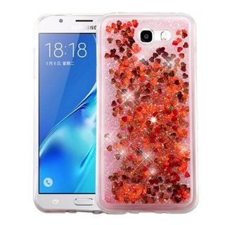 Insten Hard Snap-on Glitter Case Cover For Samsung Galaxy J7 (2017)/ Sky Pro