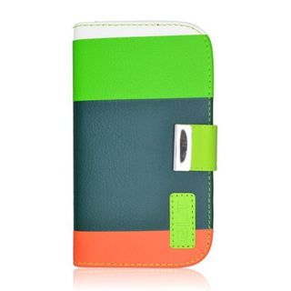 Insten Leatherette Case Cover with Wallet Flap Pouch For Samsung Galaxy S4 GT-i9500