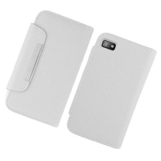 Insten Leatherette Case Cover with Wallet Flap Pouch For BlackBerry Z10
