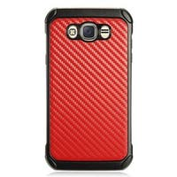 Insten Hard Snap-on Dual Layer Hybrid Case Cover For Samsung Galaxy J7 (2016)
