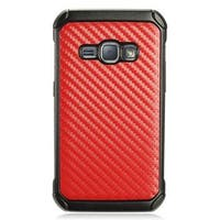 Insten Hard Snap-on Dual Layer Hybrid Case Cover For Samsung Galaxy J1 (2016)