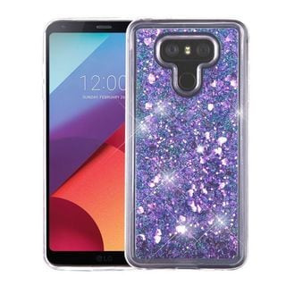 Insten Hard Snap-on Glitter Case Cover For LG G6