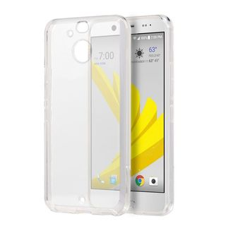 Insten Clear TPU Rubber Candy Skin Case Cover For HTC Bolt