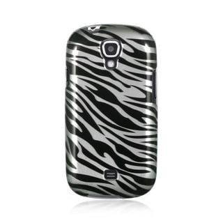 Insten Black/ White Zebra Hard Snap-on Rubberized Matte Case Cover For Samsung Galaxy Stratosphere 2 SCH-I415 (Verizon)