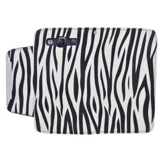 Insten Black/ White Zebra Leatherette Case Cover with Wallet Flap Pouch For Samsung Galaxy S3 GT-i9300