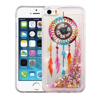 Insten Colorful Dreamcatcher Quicksand Hard Snap-on Case Cover For Apple iPhone 5/ 5S/ SE