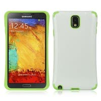 Insten White Hard Snap-on Case Cover For Samsung Galaxy Note 3
