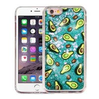 Insten Green Avocado Hard Snap-on Glitter Case Cover For Apple iPhone 6 Plus/ 6s Plus