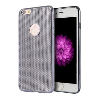 Insten Silver Mesh TPU Rubber Candy Skin Case Cover For Apple iPhone 6/ 6s