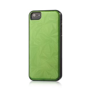 Insten Green/ Black Geometric Hard Snap-on Rubberized Matte Case Cover For Apple iPhone 5/ 5S