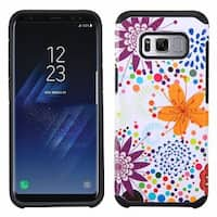 Insten Summer Flowers Hard Snap-on Dual Layer Hybrid Case Cover For Samsung Galaxy S8 Plus S8+