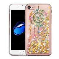 Insten Colorful Dreamcatcher Quicksand Hard Snap-on Glitter Case Cover For Apple iPhone 7