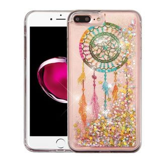 Insten Colorful Dreamcatcher Quicksand Hard Snap-on Glitter Case Cover For Apple iPhone 7 Plus