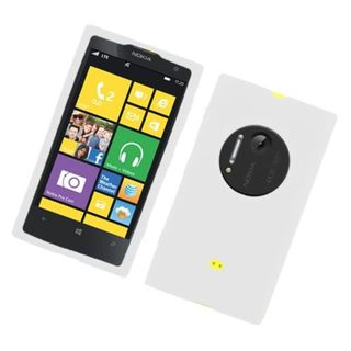 Insten Silicone Skin Gel Rubber Case Cover For Nokia Lumia 1020