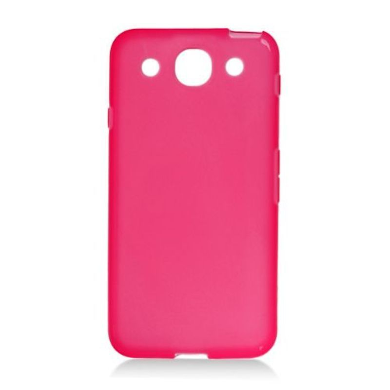 Insten Clear TPU Rubber Candy Skin Case Cover For LG Opti...