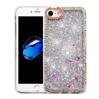 Insten Hard Snap-on Glitter Case Cover For Apple iPhone 7
