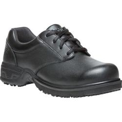 Men's Propet Sergio Work Shoe Black Leather